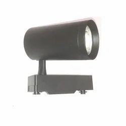 30W LED Track Light Black