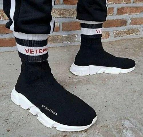 High Ankle Men Balenciaga Shoes, Size