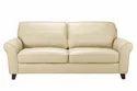 Plain Leather Sofa Lthso-020