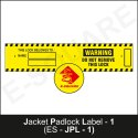 Lockout Warning Label