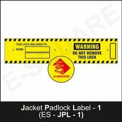 Lockout Warning Label