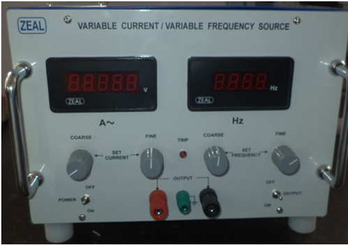 Variable Current And Frequency Source Variable Current