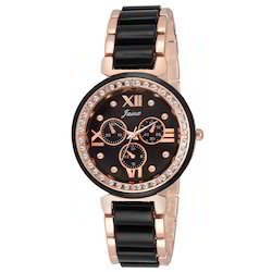 Black Women Wrist Watch