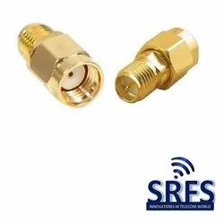 SMA Male To SMA Female Adaptor