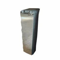 Dayanand Wave Cutting Fancy Designer Glass Mirror, Size: 12x48 inch