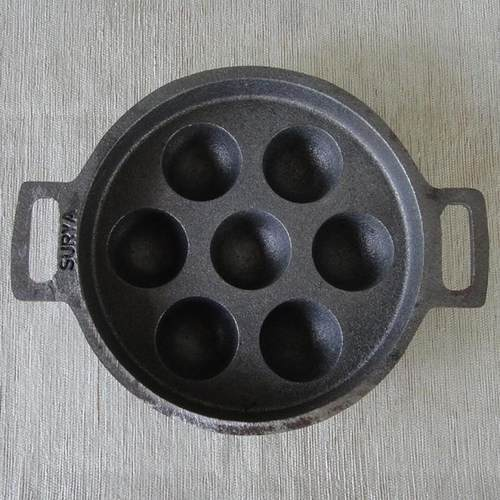 Cast Iron Paniyara Chatty Kal For Cooking Rs 699 Piece