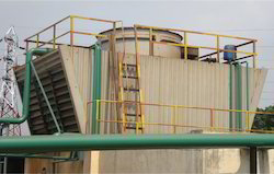 Square Cross Flow Timber Cooling Tower
