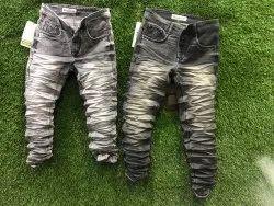 Regular Fit Plain Denim Jeans Od Shades