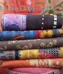 Maa Ambey Handmade Printed Kantha Quilt