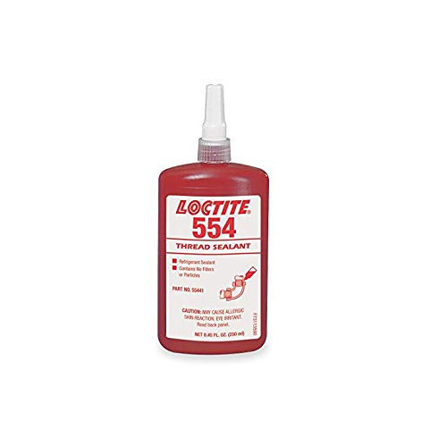 Industrial Grade Loctite 554 Refrigerant Thread Sealant, Packaging Size: 250 Ml
