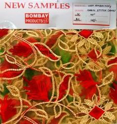 Net Embroidery Chain Stitch KNX