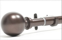 Basics Ball Extendable Curtain Rod