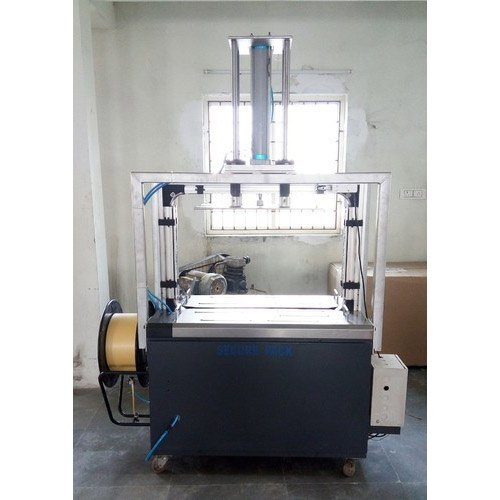 Auto Strapping Machine With Pneumatic Press, FATP101