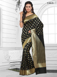 Cotton Jacquard Silk Sarees
