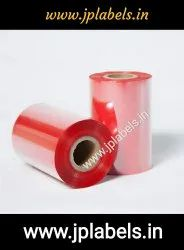 Red Color wax Ribbon 110 X 300 Mtrs