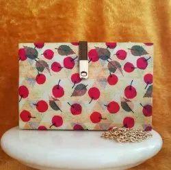 Printed MDF Clutch Handbags