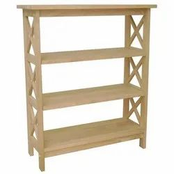 Wooden Bookcase, Size: 30x12x36 Inch, for Home and office