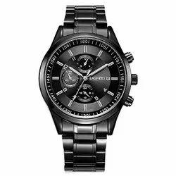 Men Rectangular Wrist Watches, for Daily