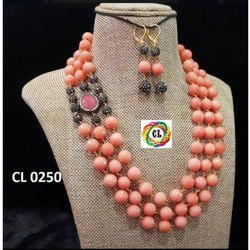 CL Jewellery Multilayered Quartz Marcasite Beads Fashion Jewellery Online Necklace