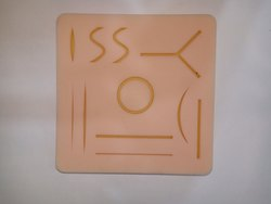 Human Skin Suture Practice Pad Model, Wounds Suturing Training Model