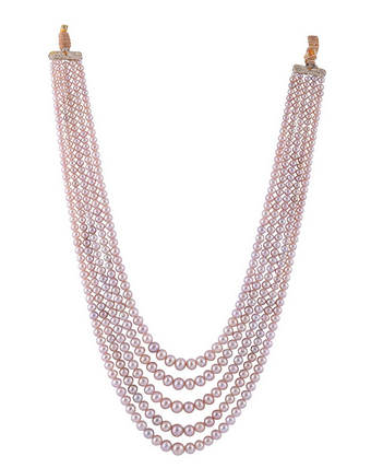 pearl light purple natural pearls