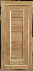 A grade Benin Teak with Maple beading Door