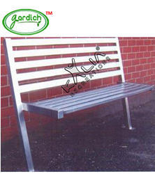 Waiting Stainless Steel Bench