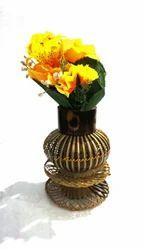 Bamboo Designer Table Flower Vase
