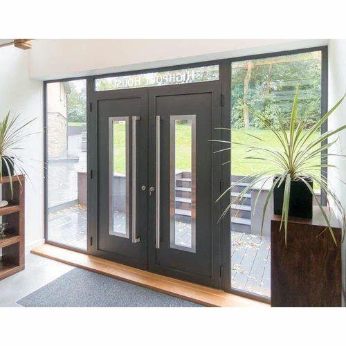 Designer Door - Aluminium Glass Main Door Manufacturer from