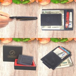 magnetic money clip wallet
