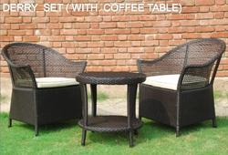 Outdoor Coffee Patio Table Set