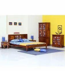 Awesome Sheesham Wood Bedroom Furniture Set