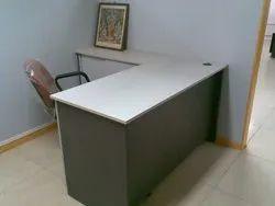 Kohinoor Furniture U KF-OT-24 L Shape Wooden Office Table
