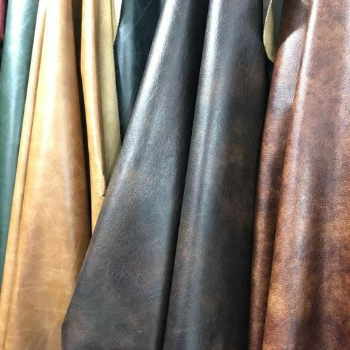 Buff Oil Pull Up Leather