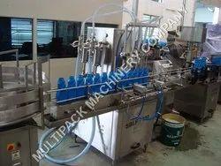 Coolants Filling Machine