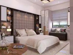 Modern Bedroom 3D Rendering Service
