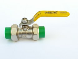 PPR double Union  Brass Ball Valve