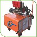 Diesel Engine Operated Water Jet Machine