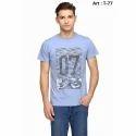 Mens Round Neck Cotton T-Shirt