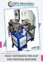 SPC Machines Automatic Pen Clip Pad Printing Machine