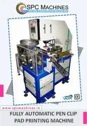 SPC Machines Automatic Pen Clip Pad Printing Machine