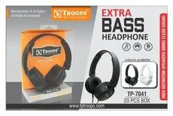TROOPS TP-7041 EXTRA BASS HEADPHONE