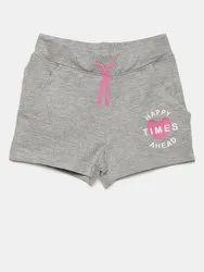 Viscose Lycra Girls Shorts