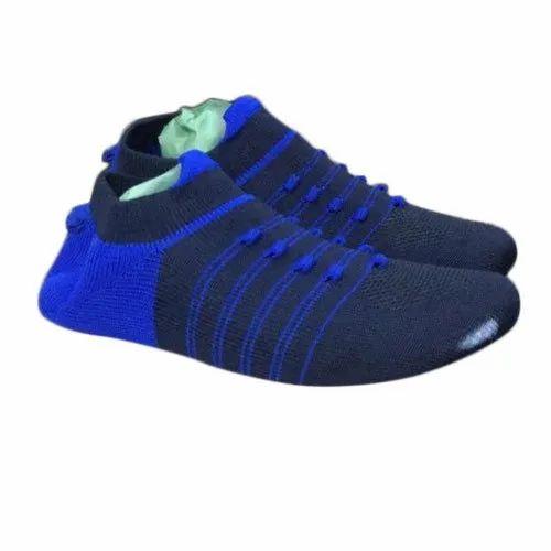 Casual Wear Mens Black Sock Shoe Upper