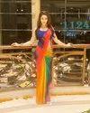 Ladies Printed Satin Saree
