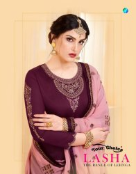 Your Choice Lasha Designer Salwar Kameez Catalog Collection