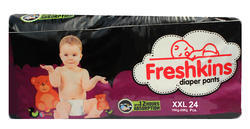 White Freshkins XXL Diapers Pants