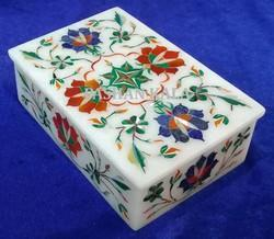 Inlay Marble Jewellery Box