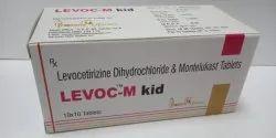 Levocetrizine Dihydrochloride &  Montelukast Tablet