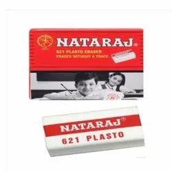 Rubber White Natraj 621 Plasto Eraser, Packaging Type: Packet